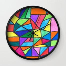 Jagged Wall Clock
