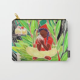 Bird woman Carry-All Pouch