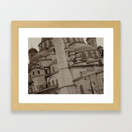 New Mosque (Istanbul, TURKEY) Framed Art Print