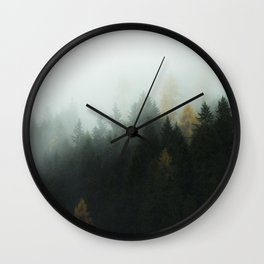 Morning Forrest Wall Clock