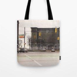 Michigan Grand Central Station Tote Bag