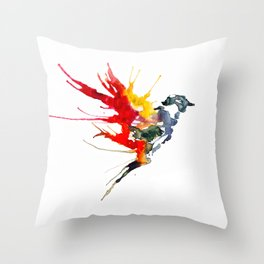 The Bird Throw Pillow