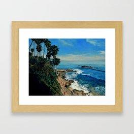Seascape Heisler Park Framed Art Print
