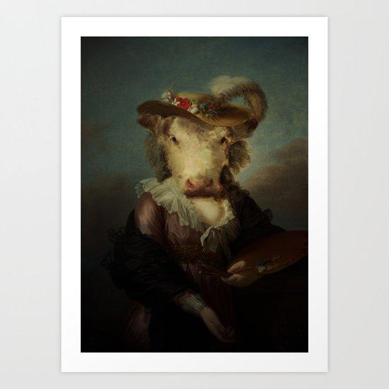 Cow #1 Art Print