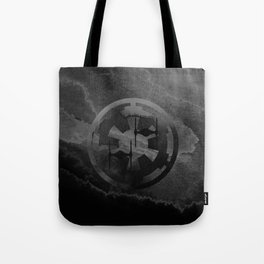 Star Wars Imperial Tie Fighters in Gray Tote Bag