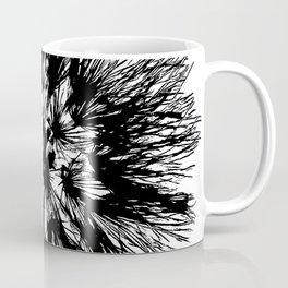 Make A Wish Dandelion Vector In Black Coffee Mug