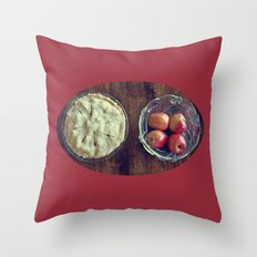 Beginning and End Throw Pillow