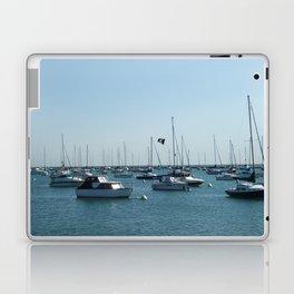 Chicago Sail Boats, Lake Michigan Shoreline Laptop & iPad Skin