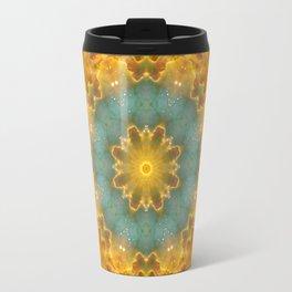 Heavens Flower Mandala Travel Mug