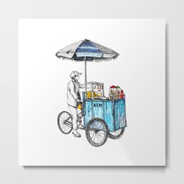 Vietnam Street Food Metal Print
