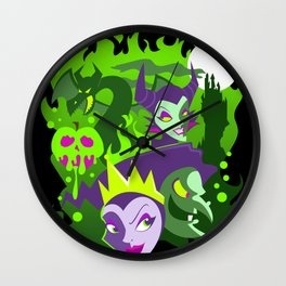 Wicked Ways Wall Clock