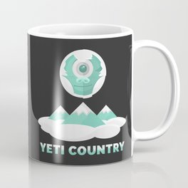 Yeti Country Coffee Mug