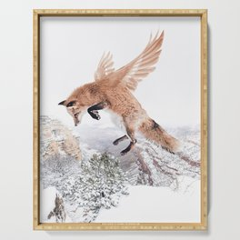 Flying Fox Serving Tray
