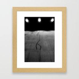 I'm Cracking Framed Art Print