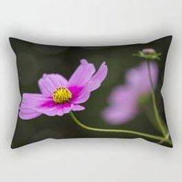 pink Cosmea summer flower Rectangular Pillow