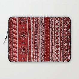Yzor pattern 005 red Laptop Sleeve