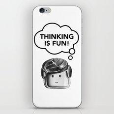 Thinking is Fun iPhone & iPod Skin