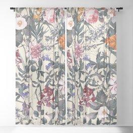 Romantic Garden XI Sheer Curtain
