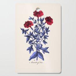 Four o'clock Flower Cutting Board