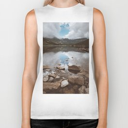 Mountain Lake - Landscape and Nature Photography Biker Tank