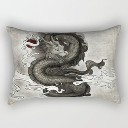 Oriental Dragon Rectangular Pillow