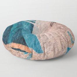 Dark Grace [1]: an abstract watercolor by Alyssa Hamilton Art Floor Pillow