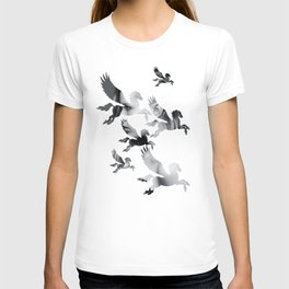 Facing Pegasus T-shirt