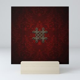 Decorative celtic knot Mini Art Print