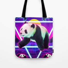 Panda Rave - Raving Panda Tote Bag
