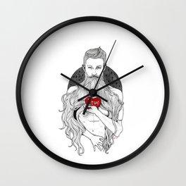 I got your heart again Wall Clock