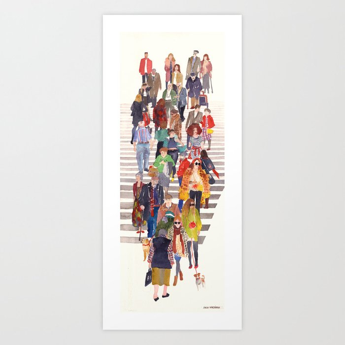 Zebra crossing Art Print