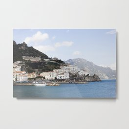 Amafi Coast Italy Metal Print