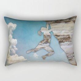 Climb On II Rectangular Pillow