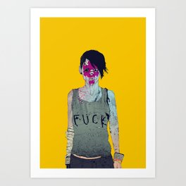 Helle Art Print