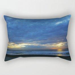 Sunset Blues Rectangular Pillow
