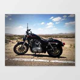 ROUTE 66 MOTORCYCLE RUN Canvas Print