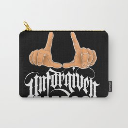 Unforgiven Tattoo Banner Carry-All Pouch