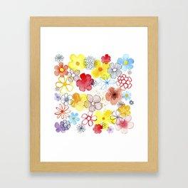 Summergarden Framed Art Print