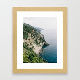 Cinqueterre - Italian Coast Framed Art Print