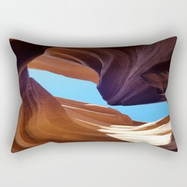 Antelope Canyon #3 Rectangular Pillow