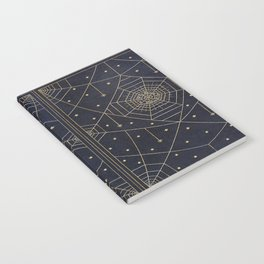 Spider Silk Stars Book Notebook