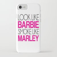 barbie iPhone & iPod Cases featuring Barbie by I Love Decor