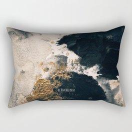 Black Smoke IV Rectangular Pillow