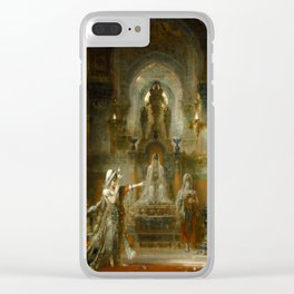 """Gustave Moreau """"Salomé Dancing before Herod"""" Clear iPhone Case"""