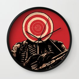 SHOOT! Wall Clock
