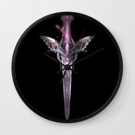 Dagger of the heart Wall Clock