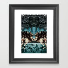 SERFS UP Framed Art Print