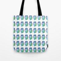 ohana Tote Bags featuring Ohana  by Inks. MD
