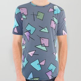 Flying Angles All Over Graphic Tee