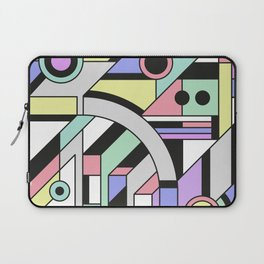 De Stijl Abstract Geometric Artwork Laptop Sleeve